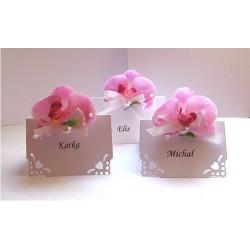 """malá sada """"Růžová orchidej"""""""
