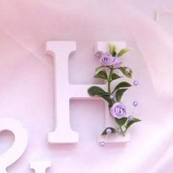 Písmena s růžičkami