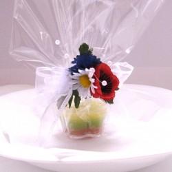 Dárek pro hosty- svíčka kytička
