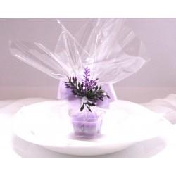 Dárek pro hosty- svíčka kytička 2