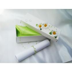 Svatební oznámení v krabičce kopretinové
