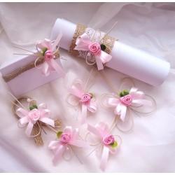 """sada """"Juta a růžoví motýlci"""""""