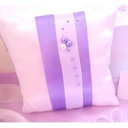 polštářek na prstýnky lila