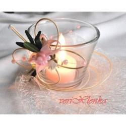 Svícínek na čajovou svíčku 1