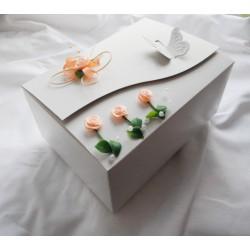 Krabička na výslužku kytičková