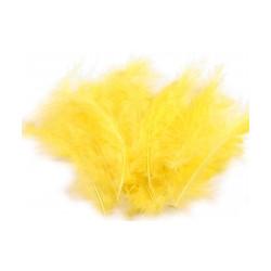 Pštrosí peří délka 9-16 cm