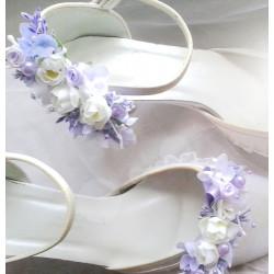 Klipy na boty květinové 1