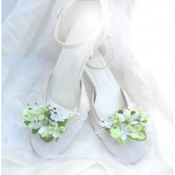 Klipy na boty květinové 2
