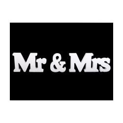 3D dekorace Mr a Mrs