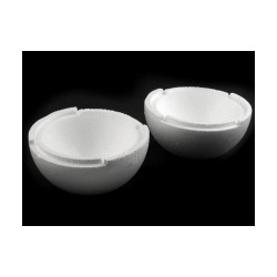 Polystyrenová koule dvoudílná dutá Ø19,5 cm