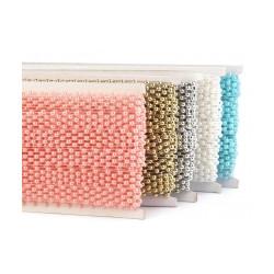 Borta s perlami šíře 14 mm