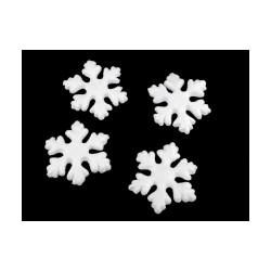 Sněhová vločka 7x7,5 cm polystyren
