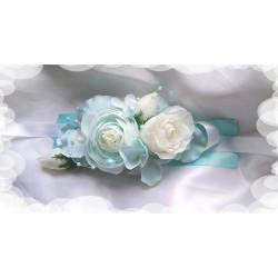 náramek tyrkys- mint blue