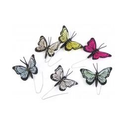Motýl na drátku