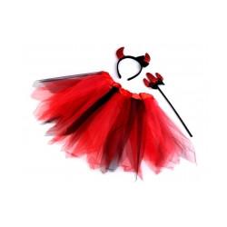 Karnevalový kostým - anděl a čertice