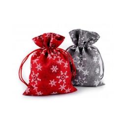 Dárkový vánoční pytlík 13x18 cm