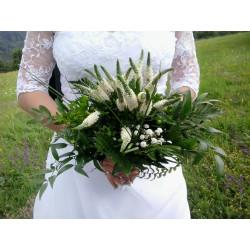 Svatební kytice přírodní