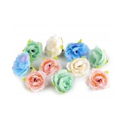 Umělý květ čajová růže Ø40 mm