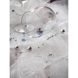 Dekorační látka pavučinka š.50cm