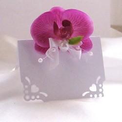 Svatební jmenovka - orchidej
