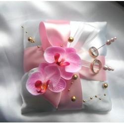 """polštářek na prstýnky """" něžná orchidej"""""""