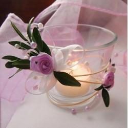 Svícínek na čajovou svíčku 2
